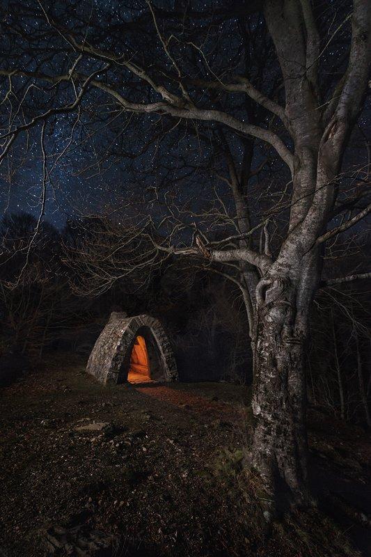 Fotografía nocturna. El refugio