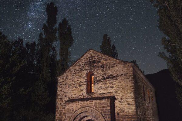 Fotografía nocturna. San Adrián de Sasabe