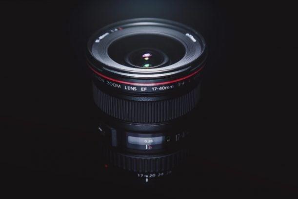 Objetivo gran angular para fotografía nocturna