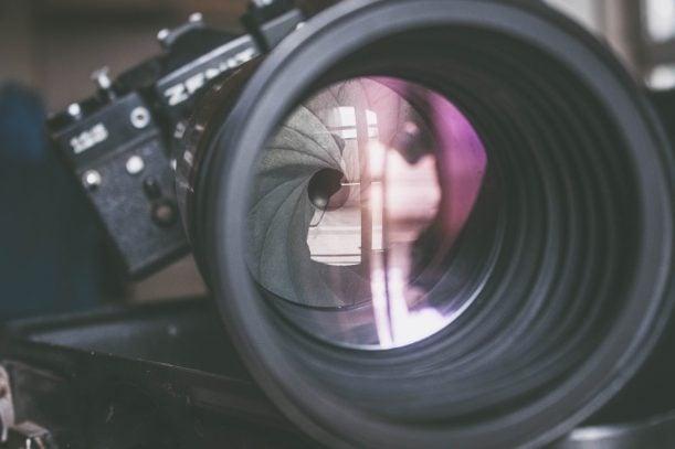 Objetivo luminoso para fotografía nocturna