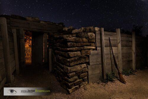 Javier Rosano fotografia nocturna sin novedad en el frente