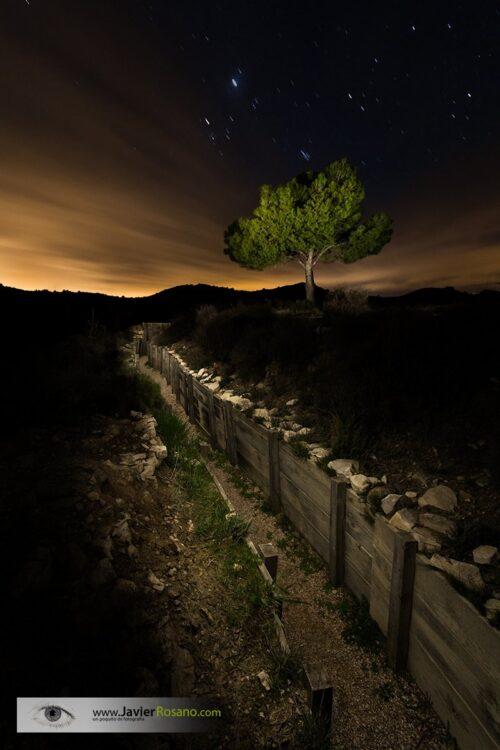 Javier Rosano fotografia nocturna Testigo de una guerra