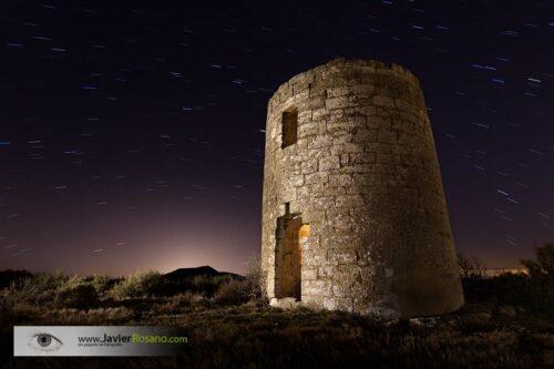 Javier Rosano fotografia nocturna torre optica