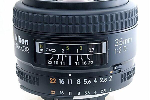 Escala de distancias en objetivos para fotografía nocturna
