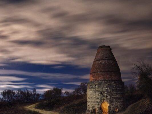 Fotografía nocturna. El horno de cal