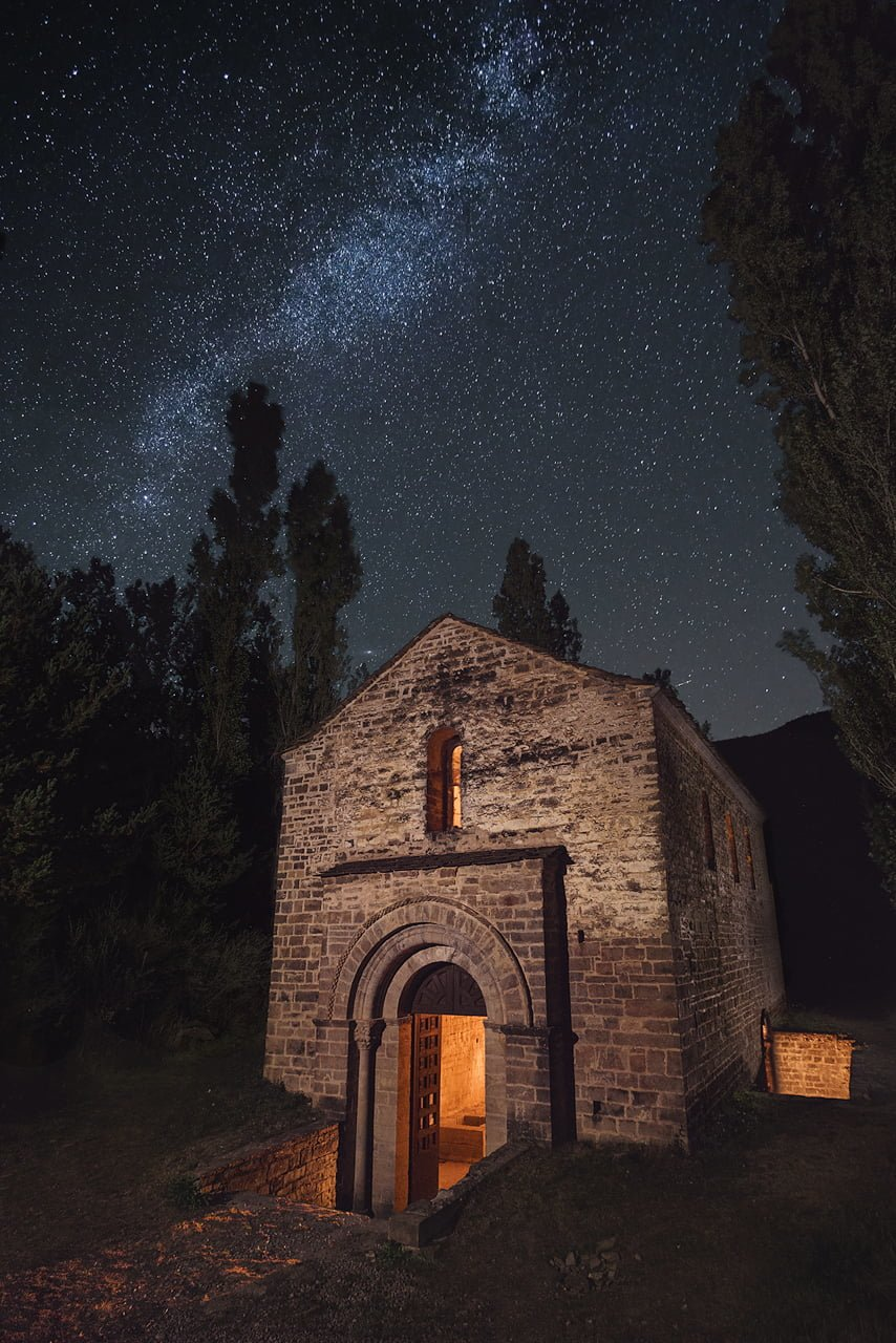 San Adrián de Sasabe. Fotografía nocturna