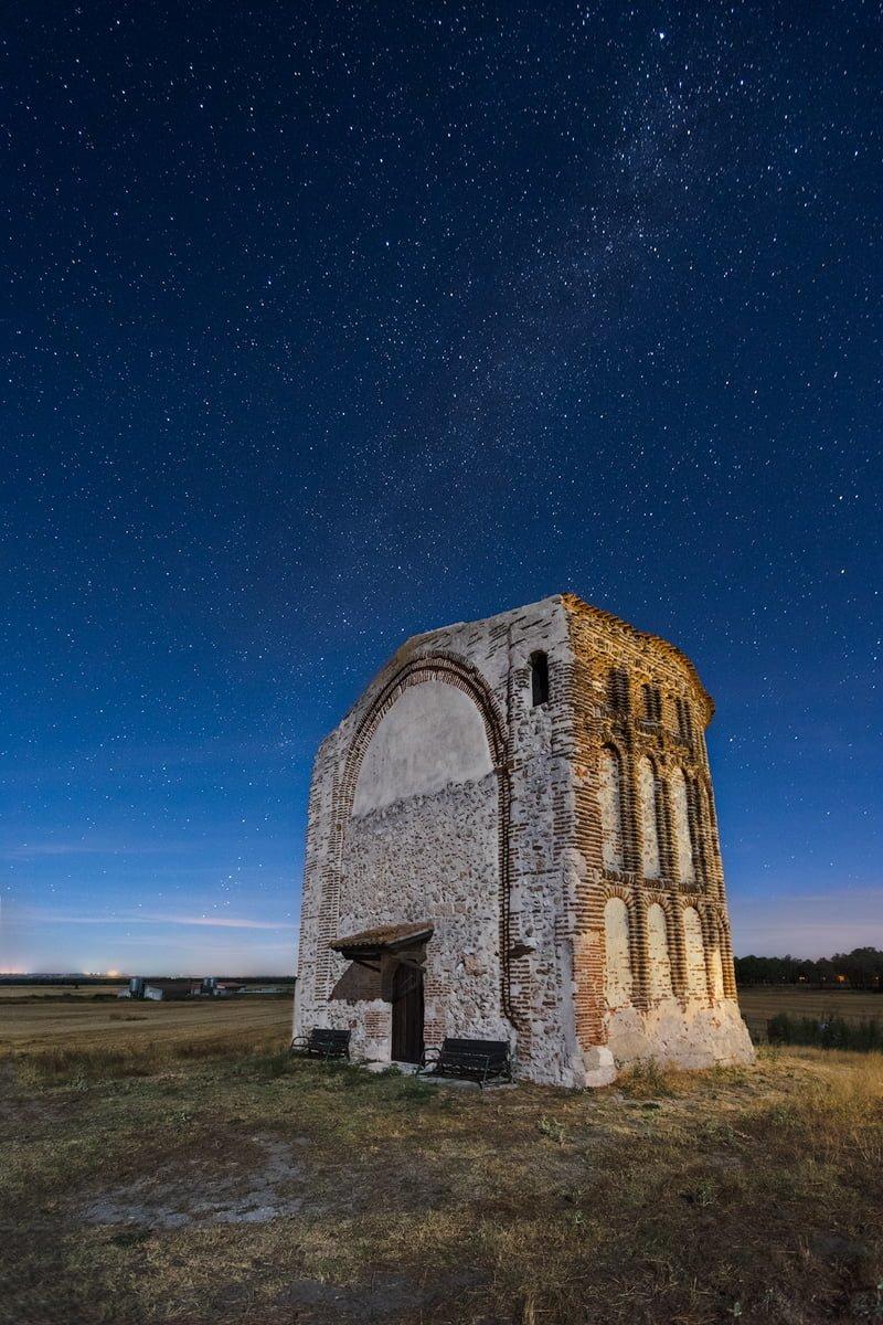 San Mamés. Fotografía nocturna