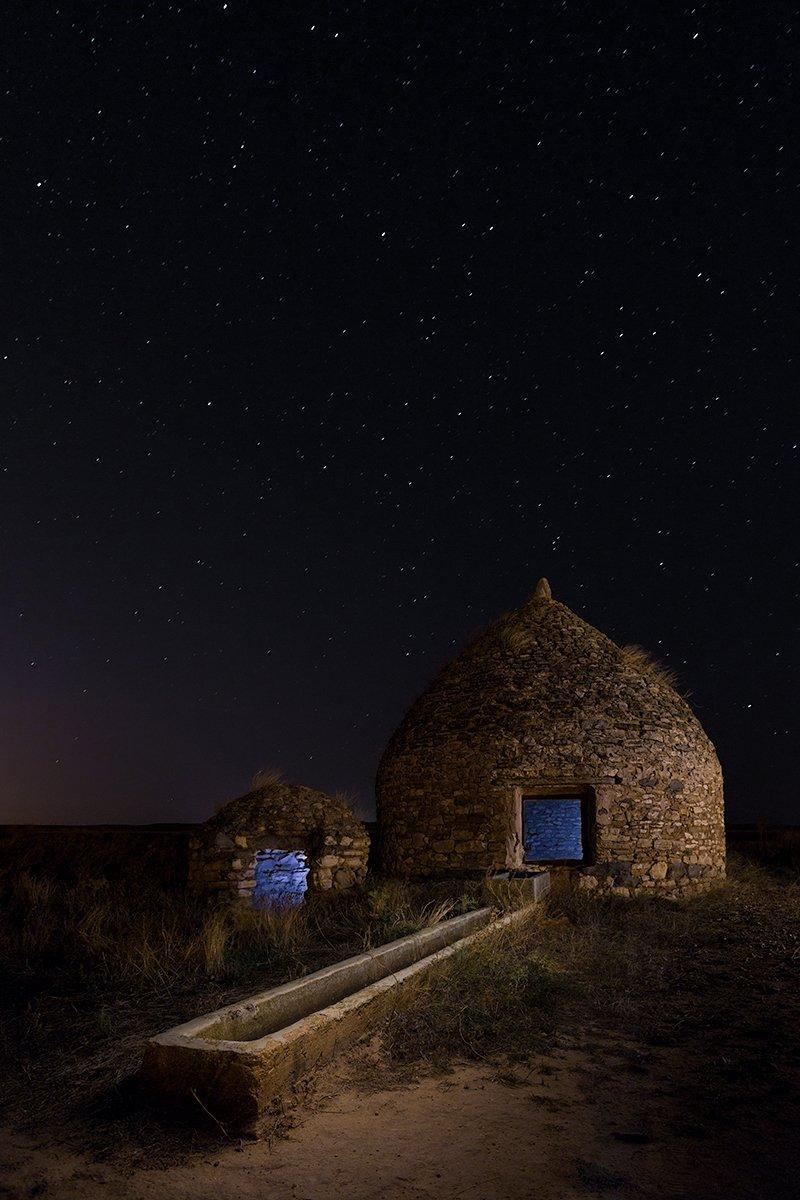 Al-Gubb. Fotografía nocturna