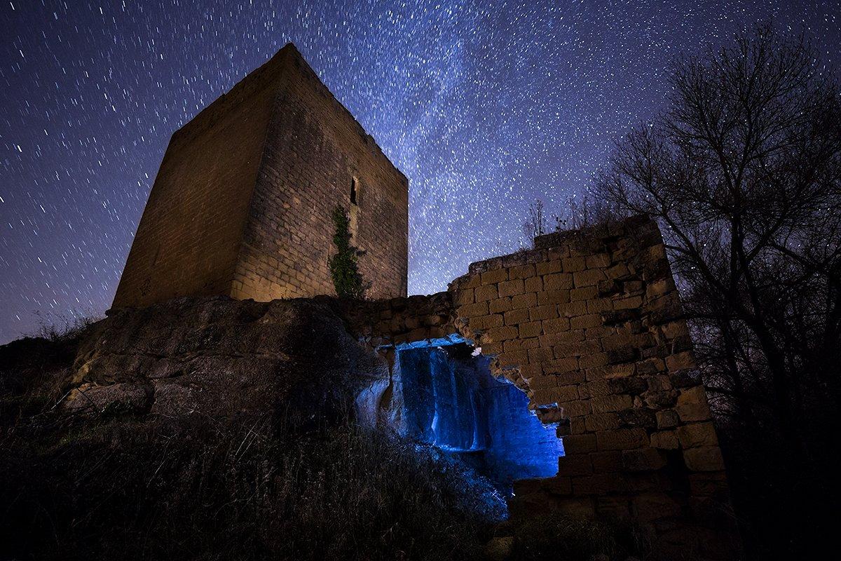 Fortificado. Fotografía nocturna