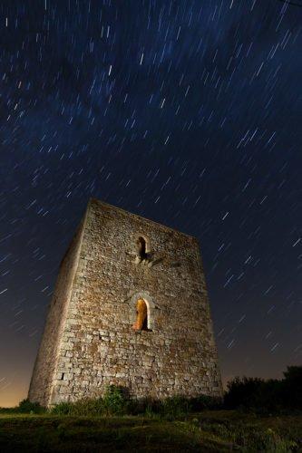 Resguardados de las estrellas. Fotografía nocturna