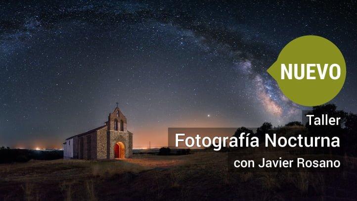 Taller de fotografía nocturna en Madrid
