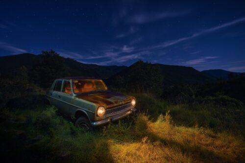 Fotografía nocturna de vehículos. Javier Rosano