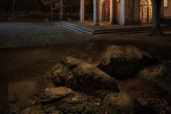Ermita. Fotografía nocturna