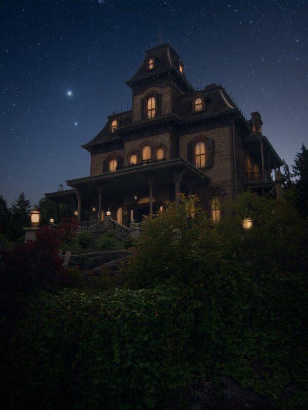 Phantom Manor. Fotografia nocturna. Javier Rosano
