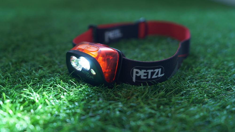 Petzl Actik Core. Intensidad mínima