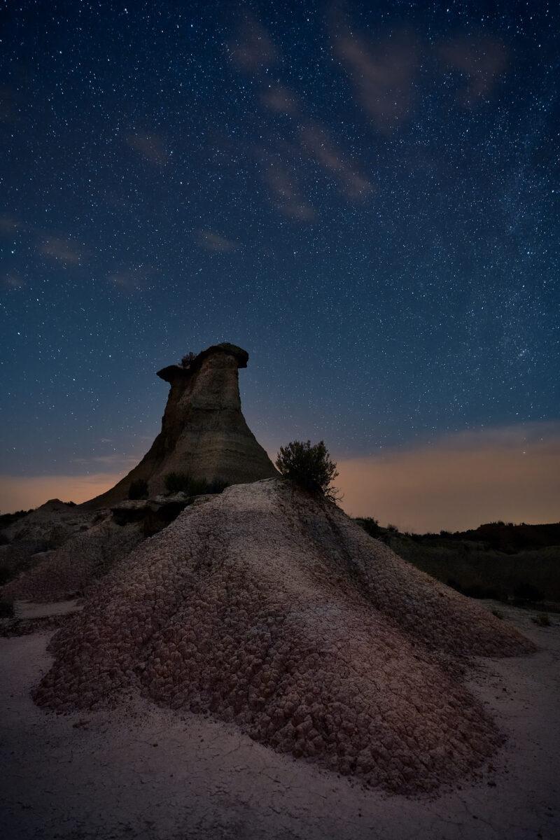 Fotografía nocturna en Monegros
