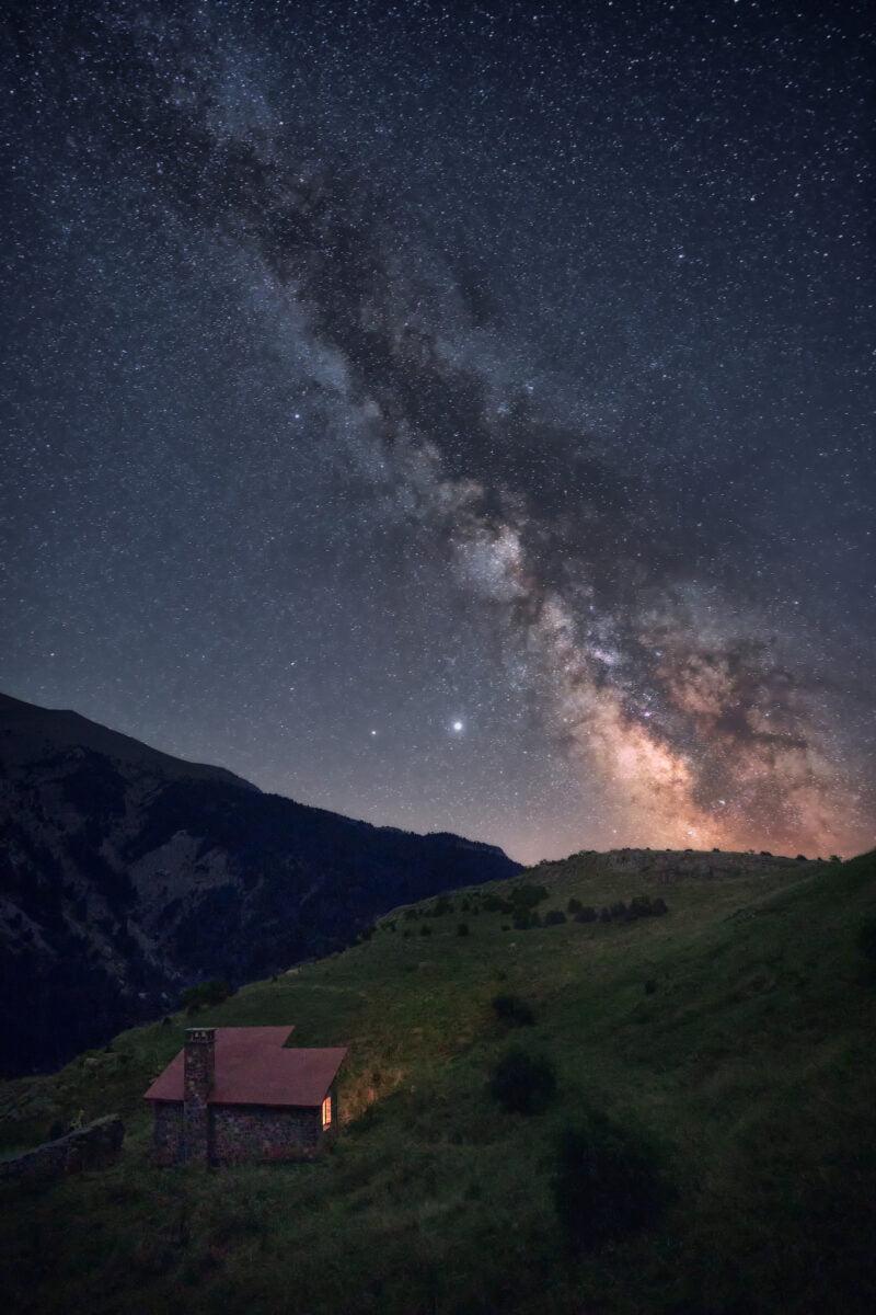 Fotografía nocturna en el Pirineo de Huesca