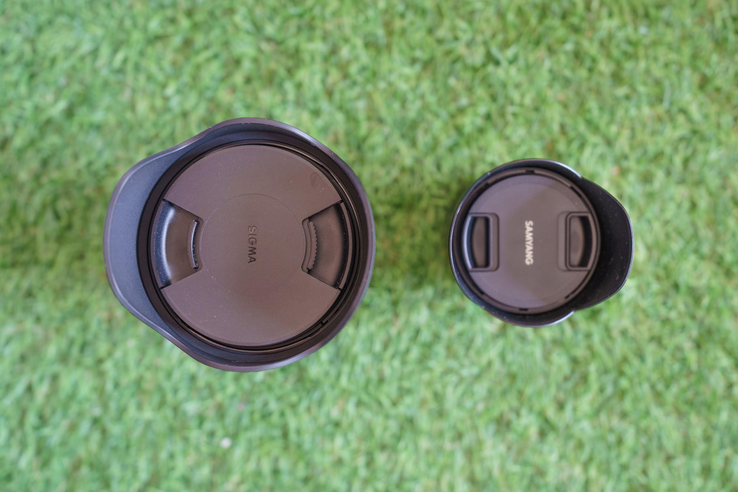 Samyang 24 mm f/1.8 vs Sigma 24 mm f/1.4